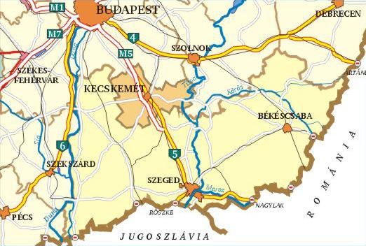 kelet magyarország térkép Térképek kelet magyarország térkép